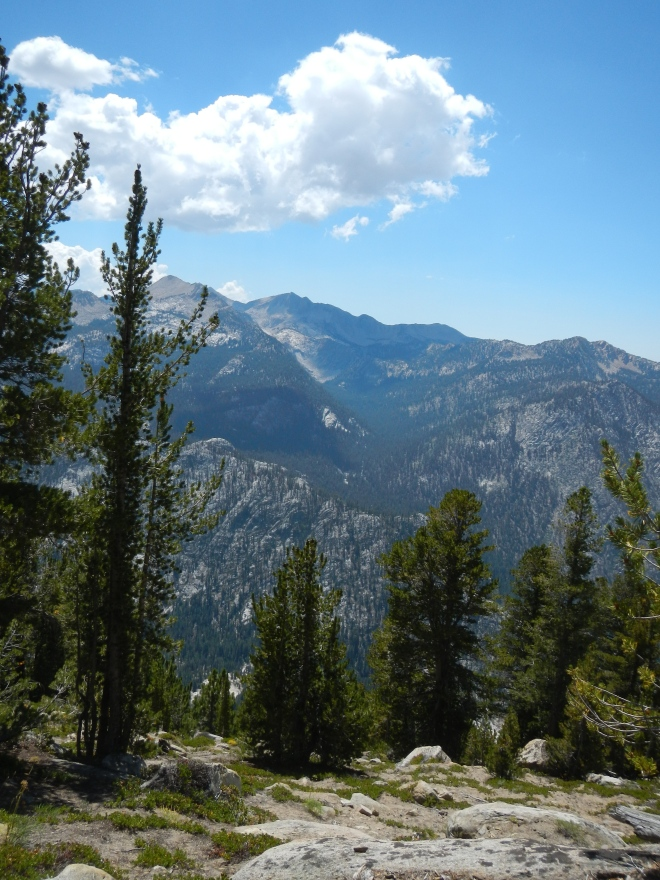 Our first view of Cascade Valley