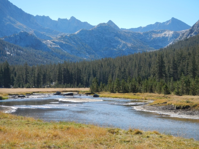 McClure Meadows and John Muir Pass