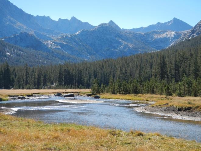 McClure Meadows and John Muir Pass