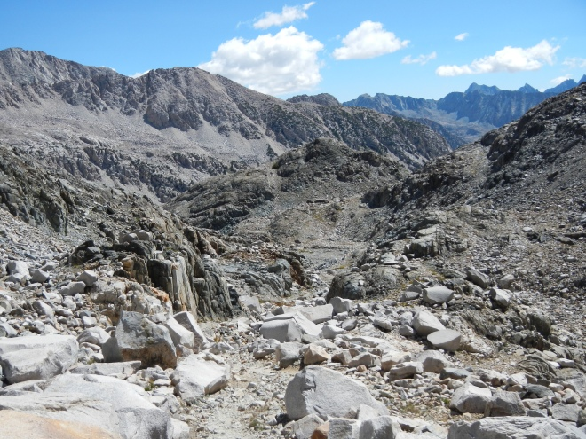 The rocky jumble of the Eastern Sierra.