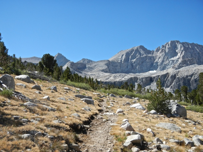 Climbing toward Forester Pass.