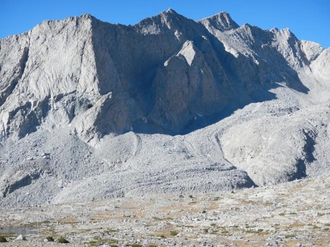 A glacier of rocks.