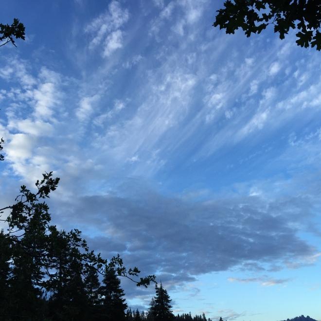 Beautiful morning sky!