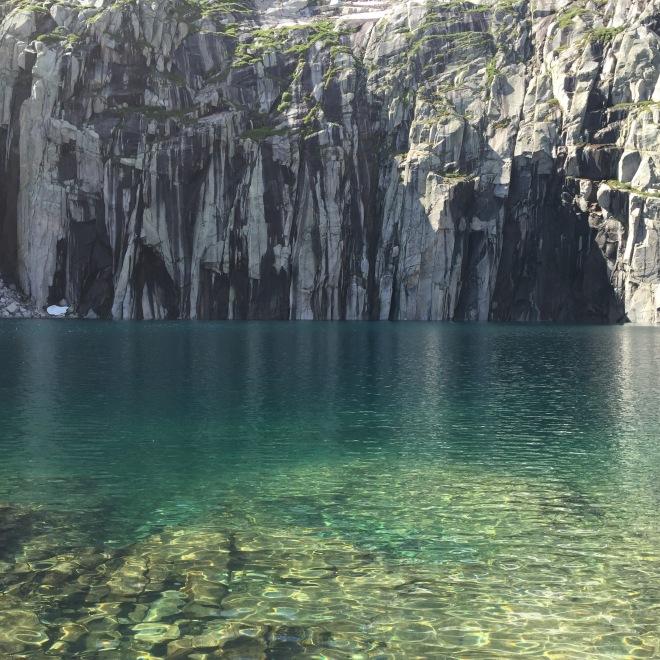Precipice Lake at last!