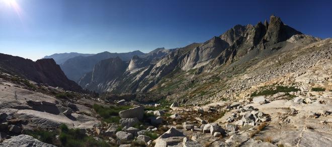 Panorama shot of my surroundings.